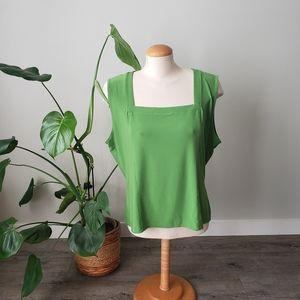 JOSEPH RIBKOFF | Green Sleeveless Womens Top